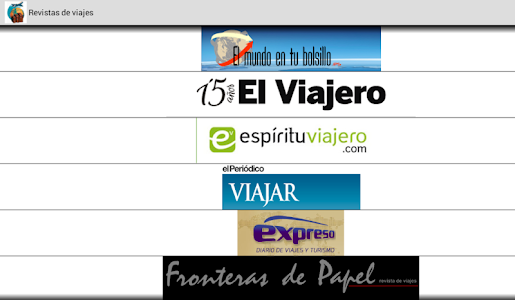 Revistas de Viajes screenshot 7
