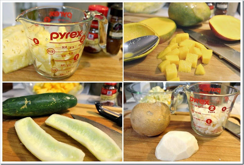 Fruit Gazpacho with Homemade Chamoy Sauce | Instruction step by step