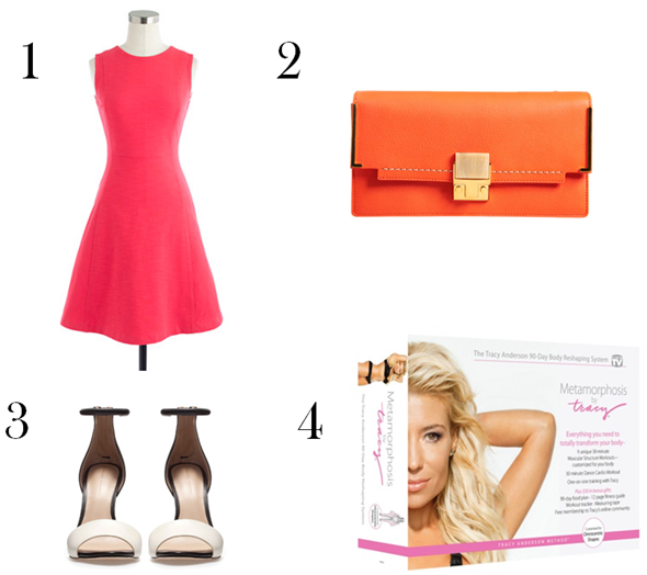 Get the Look: Gwyneth's Flirty Brights via La Dolce Vita