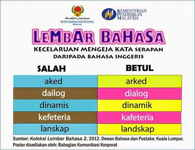 Kesalahan Ejaan Bahasa Melayu Yang kerap Berlaku