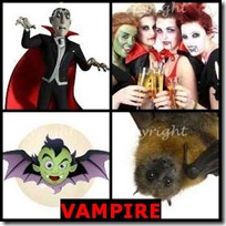 VAMPIRE- 4 Pics 1 Word Answers 3 Letters