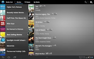 Screenshot of Media Hub Samsung ICS & JB