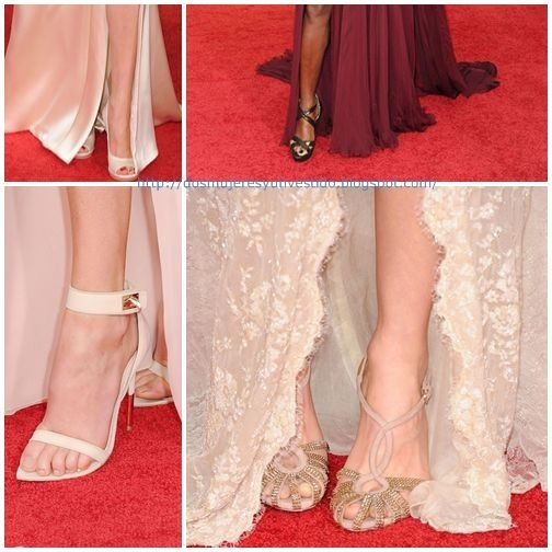 golden globes zapatos