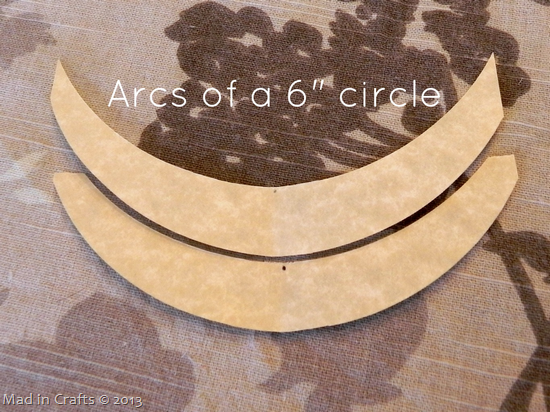 Cut paper for scrolls