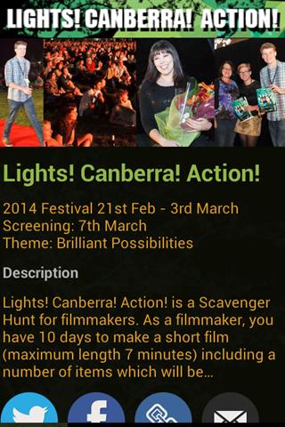 Lights Canberra Action
