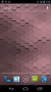 Live Wallpaper - Hex Scales - screenshot thumbnail