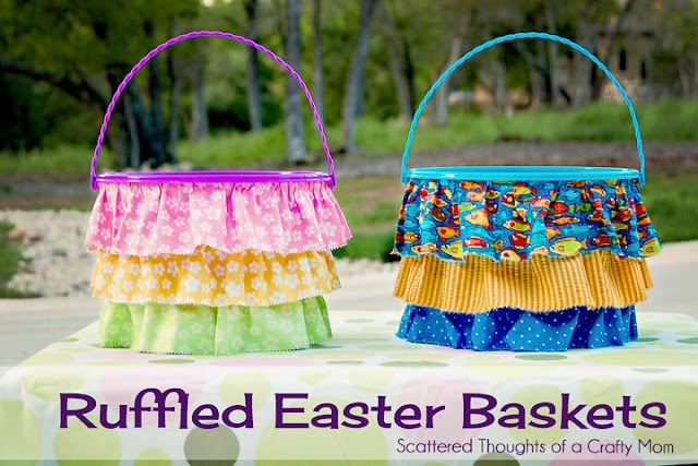 feature Ruffled Easter baskets title