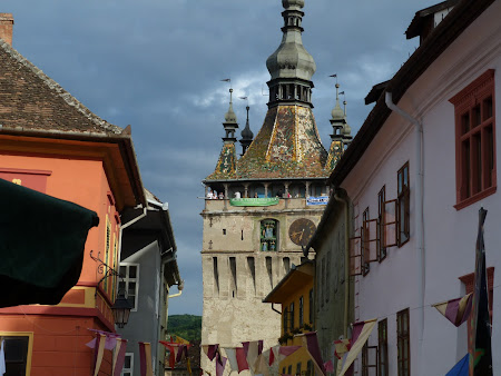 Obiective turistice Romania: turnul cu ceas