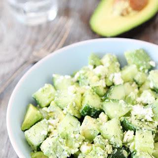 Cucumber, Avocado, and Feta Salad