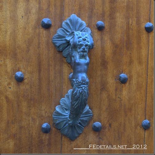 Maniglia antica, Ferrara, Italy