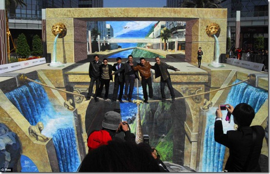 Lions Gate. China-3D Paintings