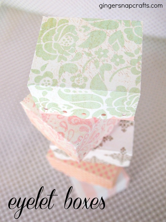 eyelet box from Lifestyle Crafts