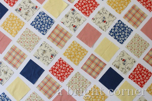 seaside fabric squares 1