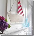 summer mantel with diy boat3
