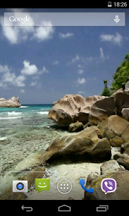 Beautiful beach Video LWP - screenshot thumbnail