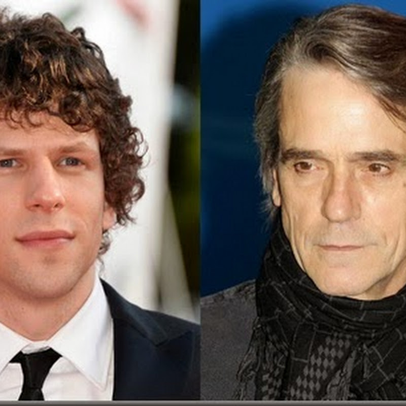 Jesse Eisenberg, Jeremy Irons Join Cast of Superman/Batman Film