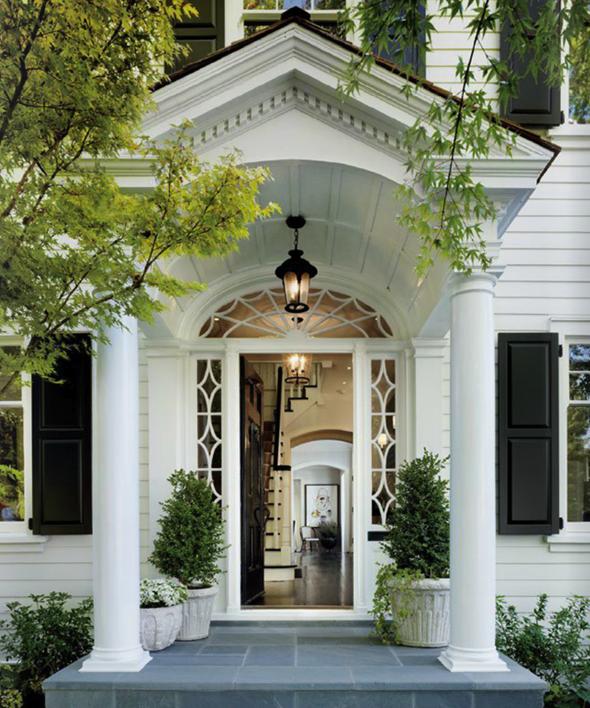 Home Interior Design Ideas Entrance: A Classic House