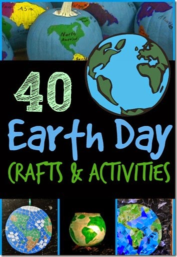 Earth Day Crafts and Earth Day Activities for Kids