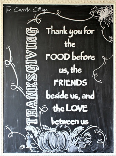 Thanksgiving Chalkboard 1