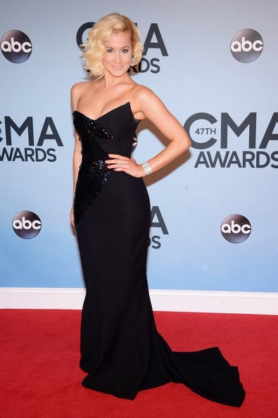 Kellie Pickler attends the 47th annual CMA Awards