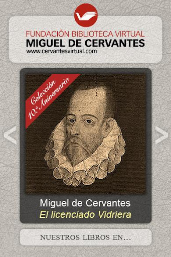 Ebooks Biblioteca Cervantes
