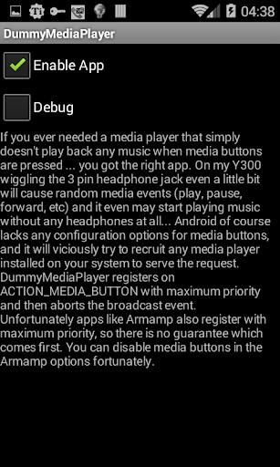 Dummy Media Player
