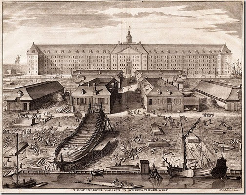 Dutch East India Company Ship Building