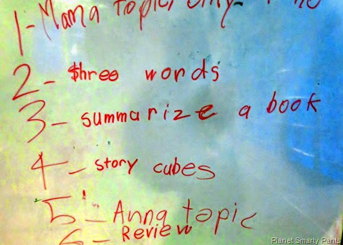 Choosing Topics for Reluctant Writers