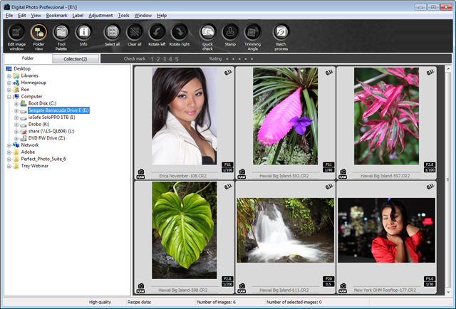 Canon Digital Photo Professional Software