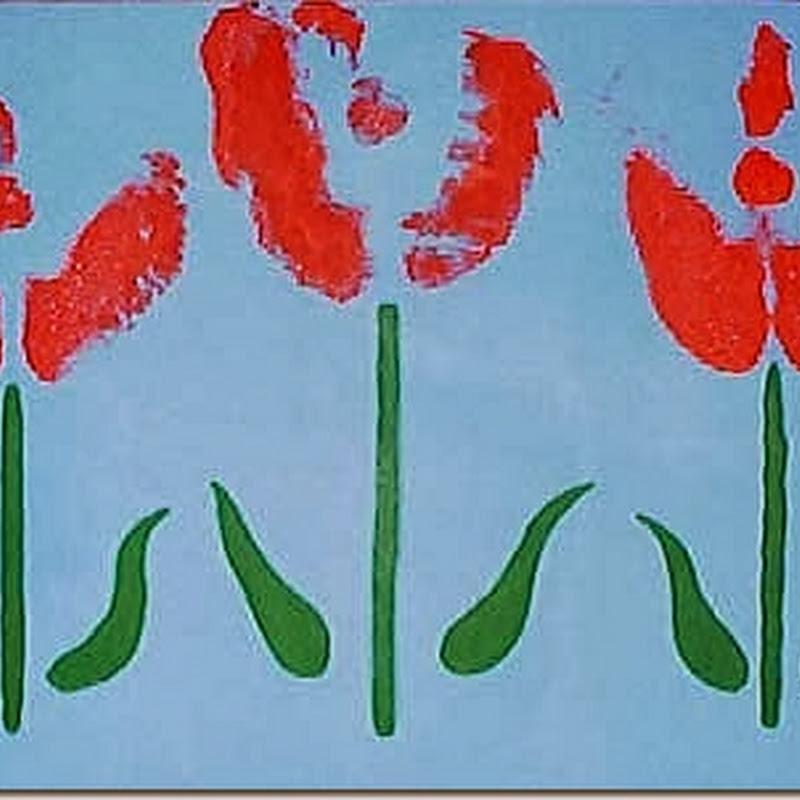 Suspenden a un profesor de arte sin empleo y sueldo por hacer un cuadro de Tulipanes con las nalgas