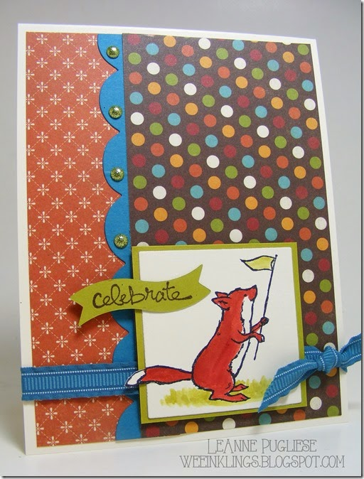 LeAnne Pugliese WeeInklings ColourQ261 Storybook Friends Good Greetings Stampin Up