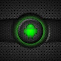 Green Glow Go SMS Theme icon