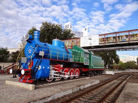 Locomotiva istorica - gara din Chisinau