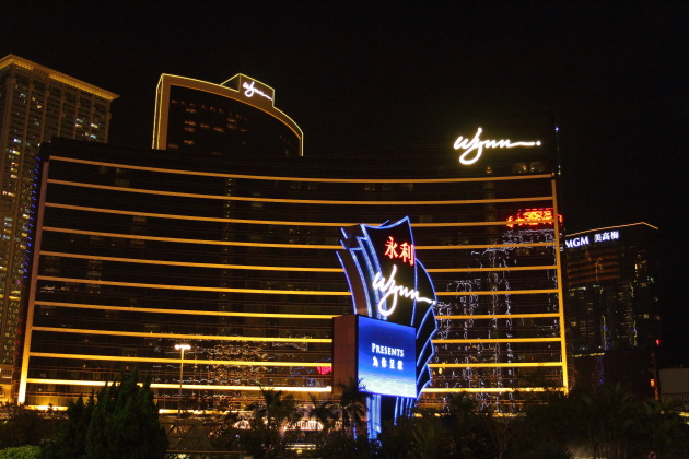 Wynn and MGM Hotels also decked up at Macau