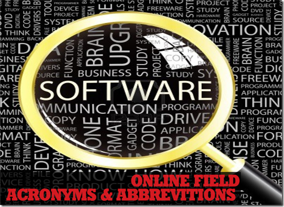 software acronyms abbreviations