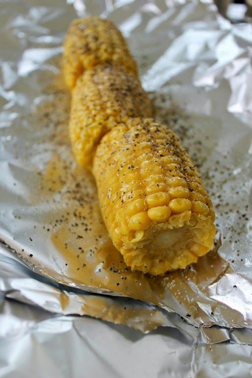 #ad grilling corn on the cob #whatsgrillin #CollectiveBias