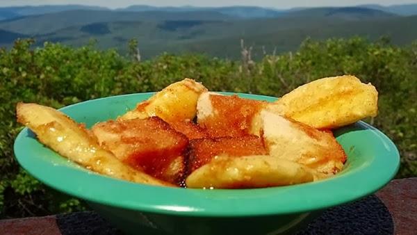 bananas camping dessert trail food recipe