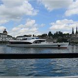 auf einem Schiff, Luzern Bahnhofquai