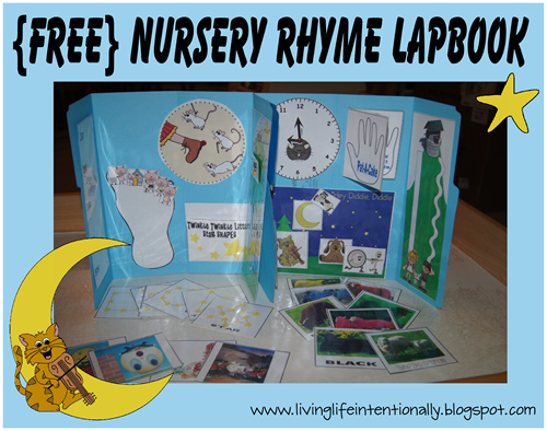 {FREE} Nursery Rhyme Lapbook
