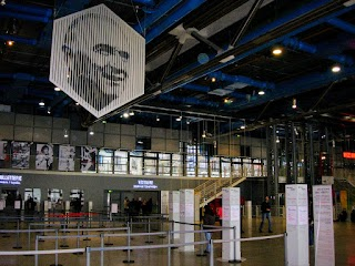 Hall d'accueil du Centre Georges Pompidou à Paris