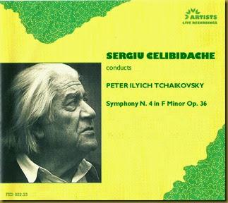 Tchaikovsky 4 Celibidsche Artist