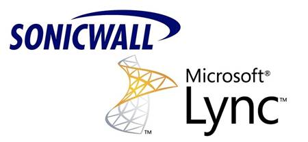 sonicwall and lync