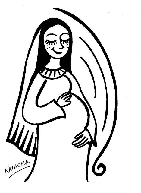 Dibujos De La Vida De La Virgen Maria