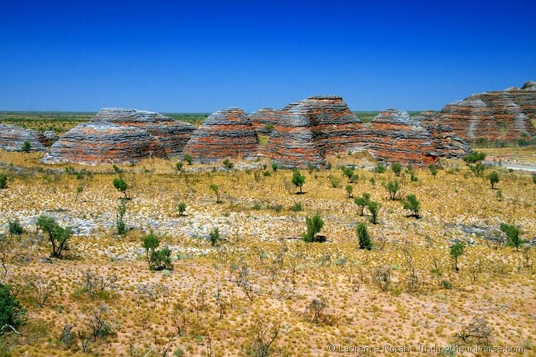Purnululu bungle bungle rock formation