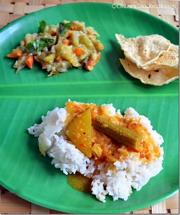 Tirunelveli style sambar
