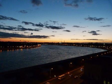 Apus de soare St. Petersburg vara