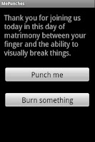 Screenshot of Punch Me