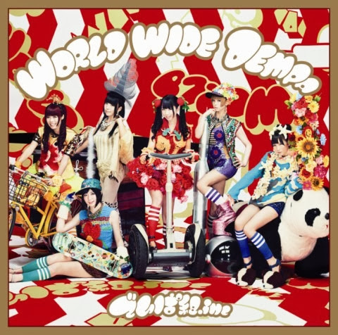Dempagumi.inc – World Wide Dempa cover 2
