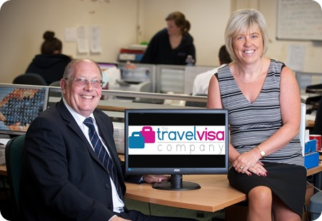The Travel Visa Company co-founders Karen Taylor and Ray Ward 1