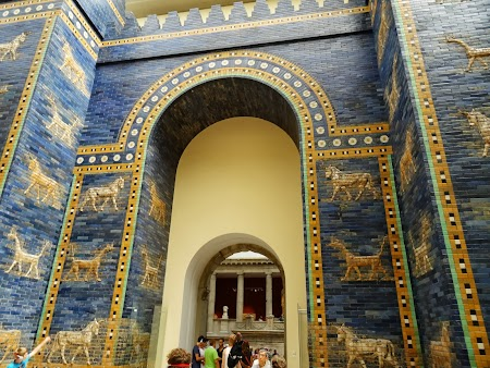 Muzeu Berlin: Poarta Istar din Muzeul Pergamon Berlin